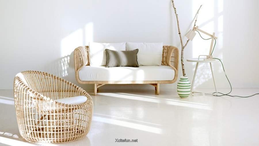 Wood Rattan Indoor Furniture By Cane Line - MSP